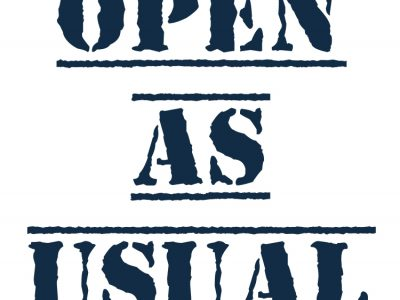 Open as usual