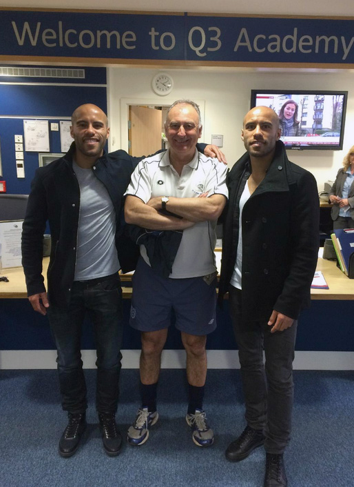 The Chambers Twins and Mr Perrins