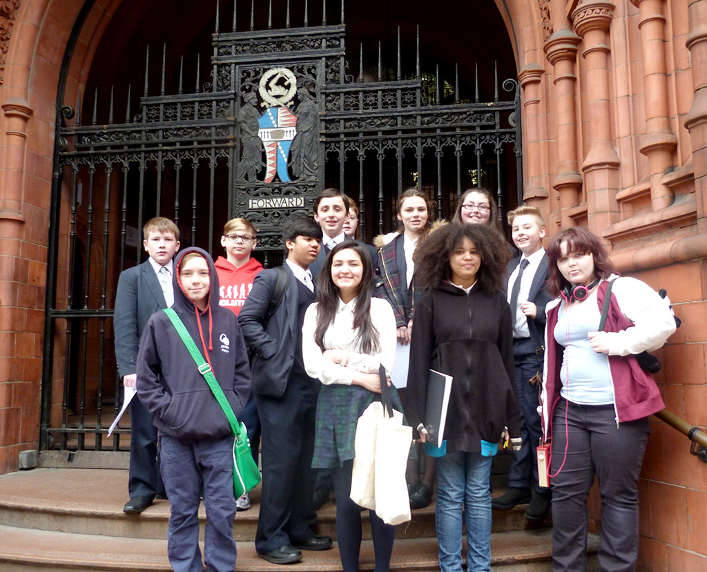 Mock Trial Students